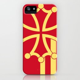Languedoc-Roussillon symbol shield iPhone Case