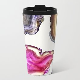 Agates Metal Travel Mug