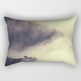 """Foogy and mountains love"" Rectangular Pillow"