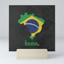 Brazil Proud Mini Art Print