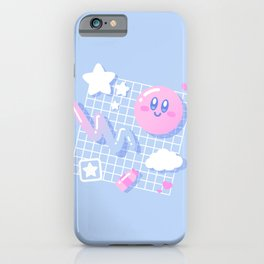 Pink Puff Aesthetic iPhone Case