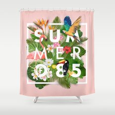 SUMMER of 85 Shower Curtain