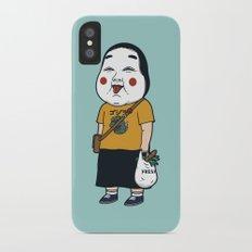 Joyful Girl Slim Case iPhone X