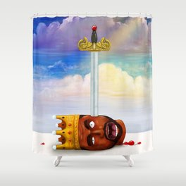 My Beautiful Dark twisted Fantasy Shower Curtain