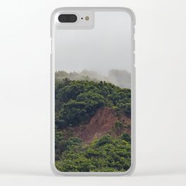 Maui Mountain Tops Clear iPhone Case