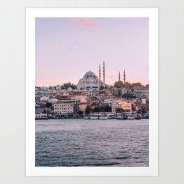 Dreamy Istanbul Art Print