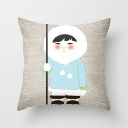 Eskimo Throw Pillow