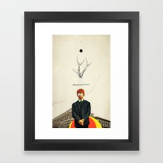 Bright Posture Framed Art Print