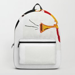 Trumpet Homage to Basquiat Backpack