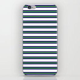 Nautical Stripes iPhone Skin