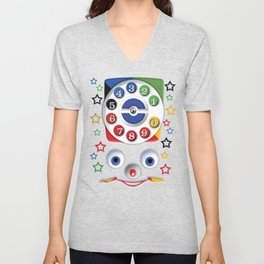 Classic Retro vintage Smiley Toys Dial Phone Unisex V-Neck