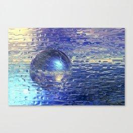 Ewiges Eis Canvas Print