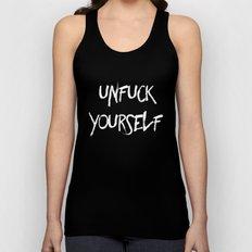 Unfuck Yourself - inverse Unisex Tank Top