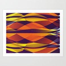 bonito fondo pattern Art Print