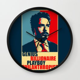 Robert Downey Jr - The Legend Wall Clock
