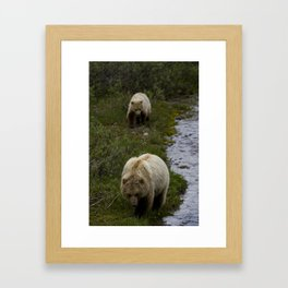 Wait for me Framed Art Print