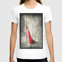 shoe T-shirts featuring Painted Shoe by V.L. Durand