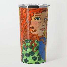 Goddess Brigid Travel Mug