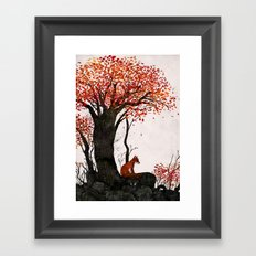 Fantastic Mr. Fox Doesn't Feel So Fantastic Anymore Framed Art Print