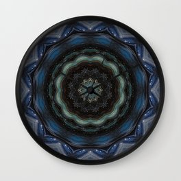 Indigo Soul Wall Clock