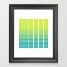 Sun-Set Framed Art Print