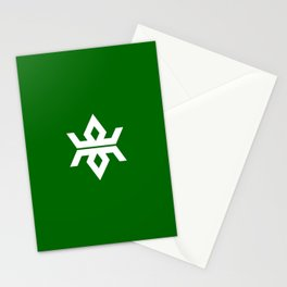 iwate region flag japan prefecture Stationery Cards