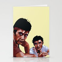 scarface Stationery Cards featuring Scarface by Taylor Gonzales