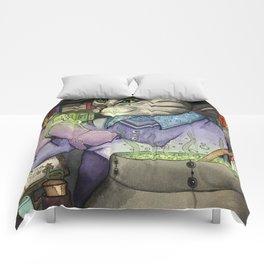 A Cat's Magic Comforters