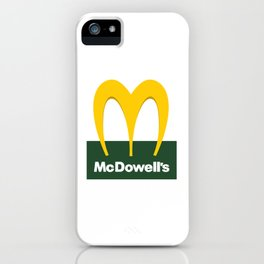 McDowell's iPhone Case