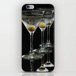 Three Martini's and three olives.  iPhone Skin
