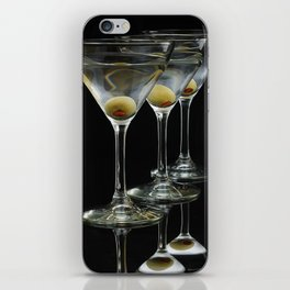 Three Martini's and three olives.  iPhone Skin
