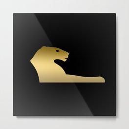 Ancient Egyptian lion – goddess Sekhmet Metal Print