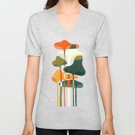 Little mushroom Unisex V-Neck