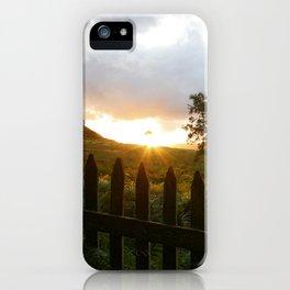 Sunrise in the Lake District, Ullswater, Cumbria. iPhone Case