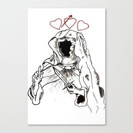Ruler Of Love Canvas Print