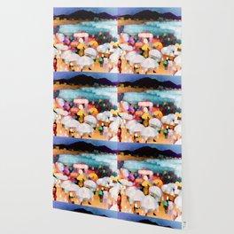 Bathing Pleasure Wallpaper