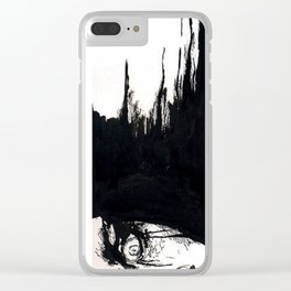 Fright Clear iPhone Case