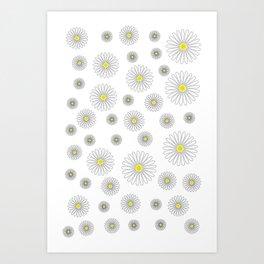 Daisy Daze Art Print