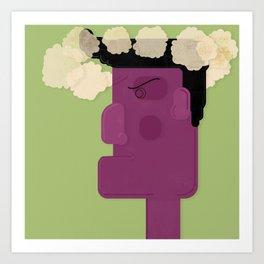 Unsatisfied Customer Four Art Print