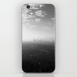 Los Angeles. L.A. Skyline. Black and White. Jodilynpaintings. Sunrise. Sunset. Cityscape. California iPhone Skin