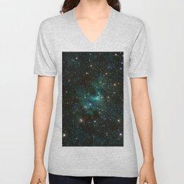 Cave Nebula Unisex V-Neck
