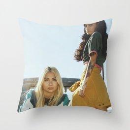 Kehlani x Hayley Kiyoko 2 Throw Pillow