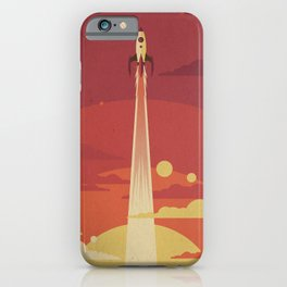 Atomic Sky iPhone Case