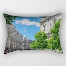 St. Paul's Cathedral in Color, London Rectangular Pillow