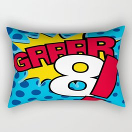 Grrrr8! Rectangular Pillow