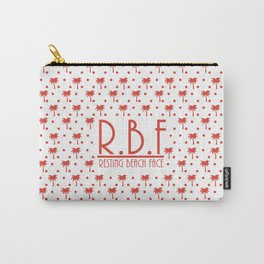 Resting Beach Face!! Carry-All Pouch