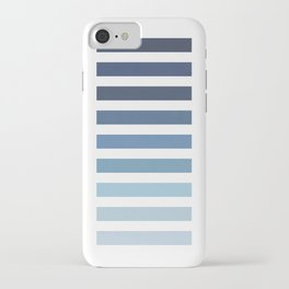 Sky and Water Blue Palette iPhone Case