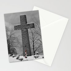 The Cross - 2 Stationery Cards