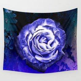 Somber Rose Wall Tapestry