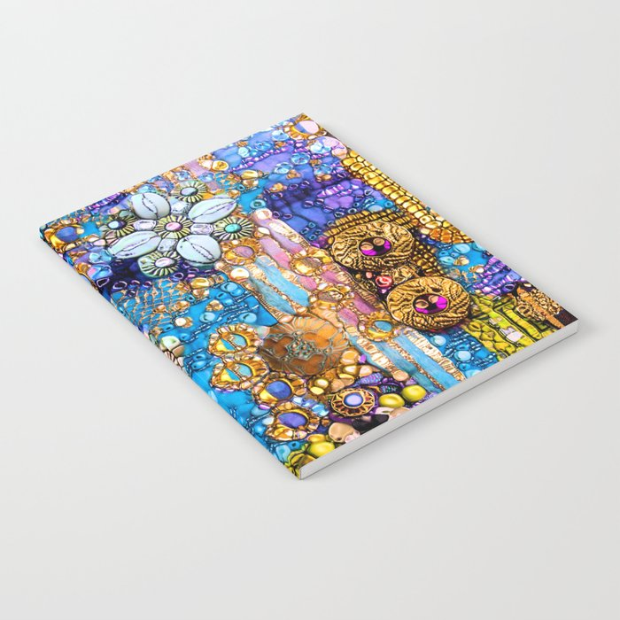 Gold, Glitter, Gems and Sparkles Notebook